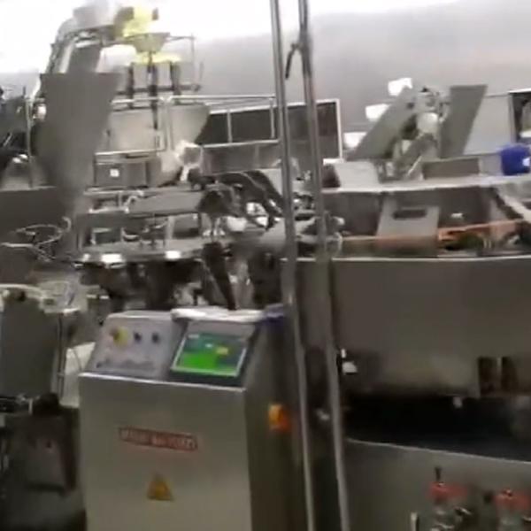 竹笋包装生产线