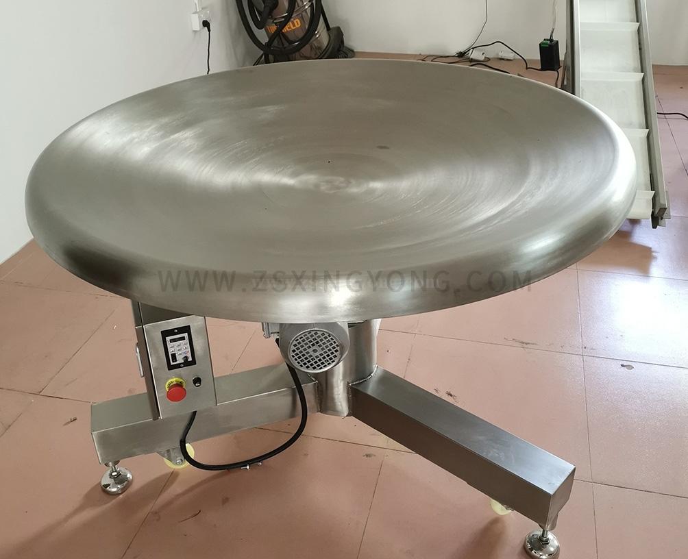 圆盘理料机